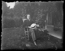 Image of Osgood Nichols, photo by Alice Austen, 1890