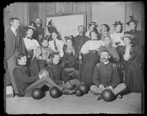 Image of Bowling Club (self) - Negative, Glass-plate