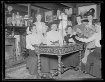 Image of Lunch club - Negative, Glass-plate