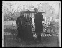 Image of Hattie White, Joy Chapman & G. Booth, photo by Alice Austen, 1892