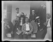 Image of [Group at Lake Mahopac] - Negative, Glass-plate