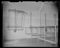 Image of Dormitory interior, Quarantine, photo by Alice Austen, ca. 1900-1910