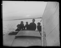 Image of [Our boat off Mariposa off Bath] - Negative, Glass-plate