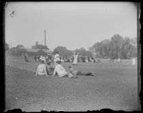 Image of [S.I. Ladies Club Finals] - Negative, Glass-plate