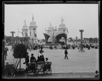 Image of Triumphal Bridge, Pan-American Exposition, photo by Alice Austen, 1901
