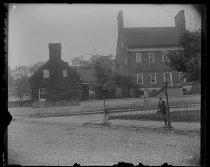Image of Old Brice House - Negative, Glass-plate