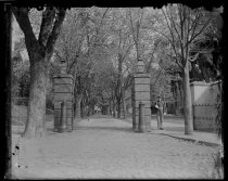 Image of Gate of N. Academy, photo by Alice Austen, 1892