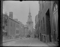 Image of Paul Revere's Church, photo by Alice Austen, 1892
