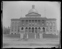 Image of State House - Negative, Glass-plate