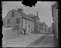 Image of Hawthornes birthplace, photo by Alice Austen, 1892