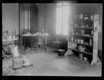 Image of Cooking Club & table, photo by Alice Austen, 1887