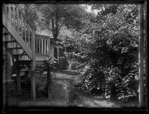 Image of End of House with Auntie's steps - Negative, Glass-plate