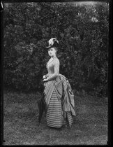 Image of Portrait of Alice Austen, photo by Oswald Muller, 1888