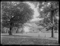 Image of View of Alexander's house through the trees, photo by Alice Austen, 1891