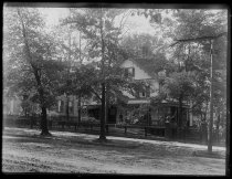 Image of Julie Lords house - Negative, Glass-plate