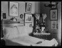 Image of Julia Marsh's room, photo by Alice Austen, 1888