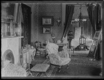 Image of Mr. Martin's parlor - Negative, Glass-plate