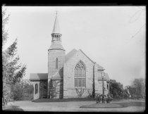Image of Sunday School St. Johns - Negative, Glass-plate