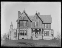 Image of St. John's Rectory, photo by Alice Austen, 1888