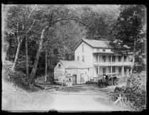 Image of Rip Van Winkle House - Negative, Glass-plate