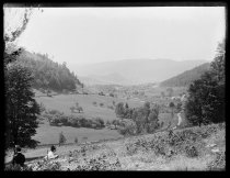 Image of Distant view of Mt. A. valley, photo by Alice Austen, 1890