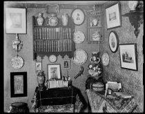 Image of Southeast corner of Alice Austen's bedroom, photo by Alice Austen
