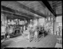 Image of [Our parlor] - Negative, Glass-plate