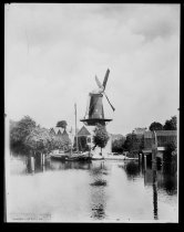 Image of Windmill in Dordrecht, The Netherlands, photo by Alice Austen, 1909