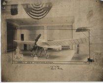 Image of Model II Rex Monoplane 1282, ca. 1912