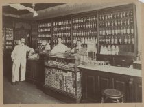 Image of Eugene Jones Pharmacy, Mariners Harbor, ca. 1904