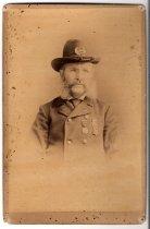 Image of M. T. Burke, photo by Strawson, ca. 1890