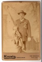 Image of G. A. R. member, photo by Koenig, ca. 1890