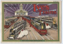 Image of Ives Trains catalog, front cover, 1930