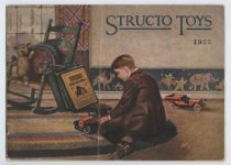 Image of Structo Toys catalog, front cover, 1923