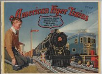 Image of American Flyer Trains catalog, front cover, 1930