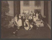 "Image of ""The White Horse Inn,"" German Club Rooms, Stapleton, ca. 1905"