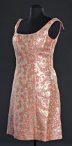 Image of 3/4 front view of dress