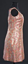 Image of side view of dress