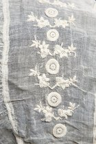 Image of detail of embroidery