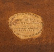 Image of detail of printed label