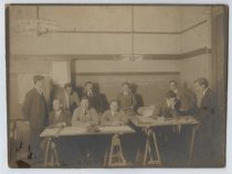 Image of P.E.S. No. 1 Architectural Terra Cotta Drawing Class, Tottenville, 1912