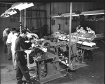 Image of factory interior, Uniforms by Ostwald, 1948