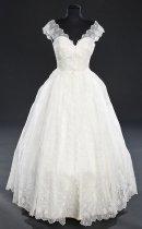 Image of Gown, Wedding - Wedding Dress