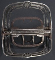 Image of back view with patent mark
