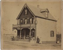 Image of Robin Hood Inn, Richmond Road, Concord, Staten Island, 1890s