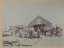 Image of [Haughwout boatyard] - Print, Photographic