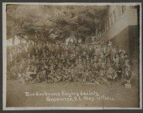 Image of Liederkranz Singing Society, Grasmere, Staten Island, May 22, 1910