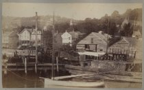 Image of View from Rubsam's Dock, Stapleton, photo by Isaac Almstaedt, ca. 1885