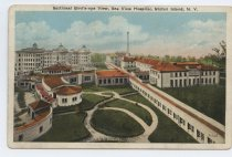 Image of Postcard, Sea View Hospital, ca. 1930s-1940s