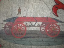 Image of detail, wagon